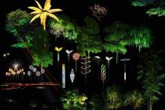 植物景观照明怎么做才能又绿色又美观?