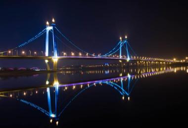 大桥夜景照明vwin德赢手机vwin德赢中国施工方案