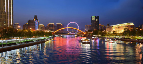 城市亮化工程景观图2