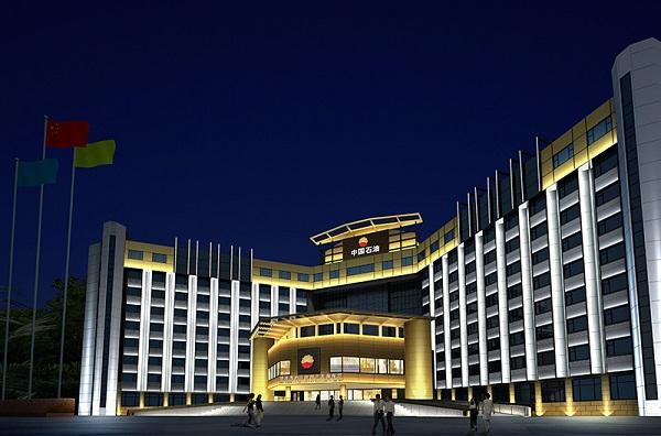 北京中国石油大厦楼体亮化工程赏析
