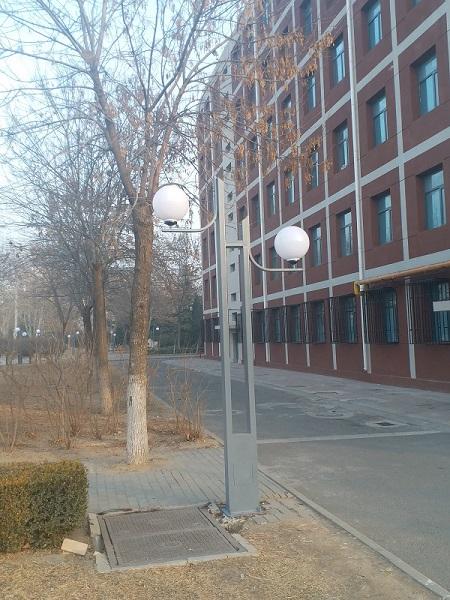 天津商业大学园林景观照明工