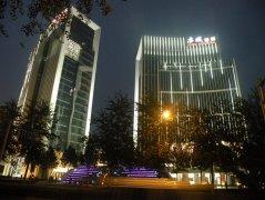 北京亦城国际中心亮化工程赏