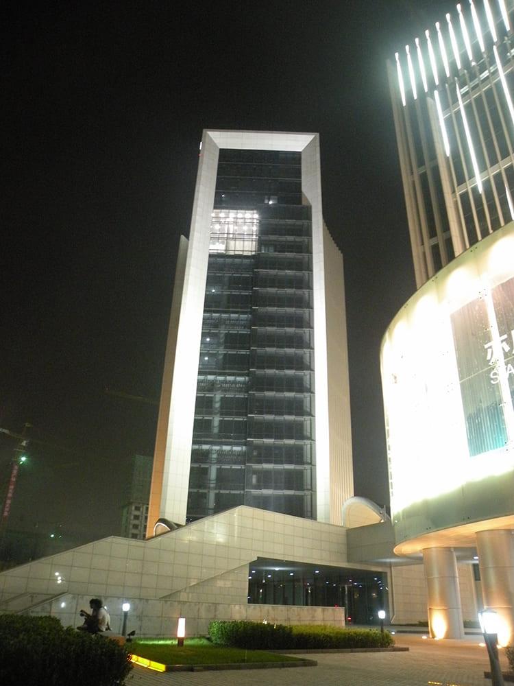 北京亦城国际中心亮化工程实拍图5