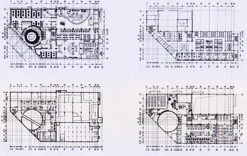 沈阳希尔斯池典温泉美食中心亮化工程平面图2