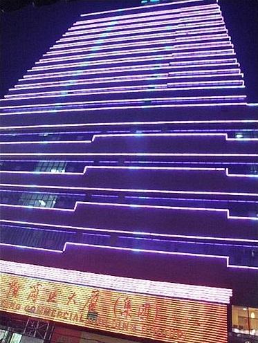 中兴沈阳商业大厦亮化工程实景图6