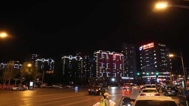 沈阳大东区亮化工程夜景图3
