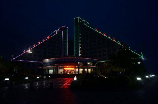 衡水冀州碧水湾酒店夜景图2