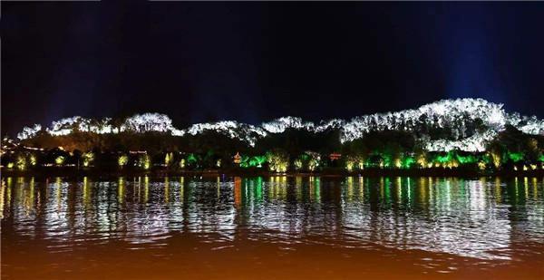 景点亮化夜景图2