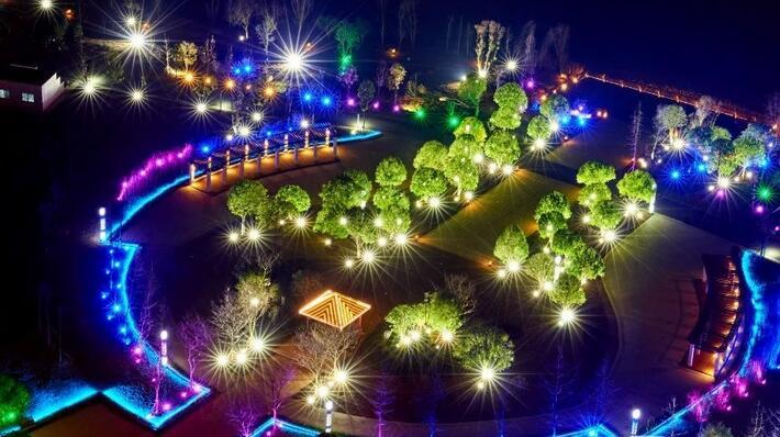 亮化工程夜景图