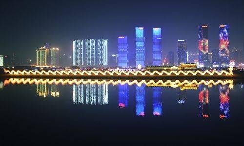 城市亮化工程夜景展示