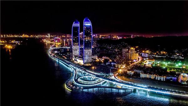 城市亮化夜景