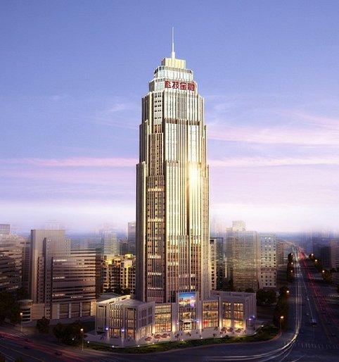 天津科技金融大厦亮化效果图