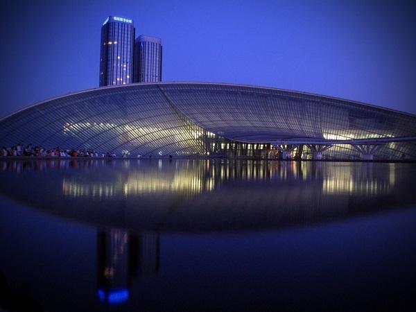 天津博物馆夜景亮化