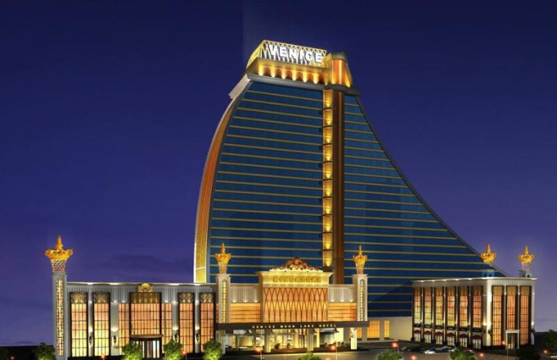 北京VENICE酒店亮化工程夜景