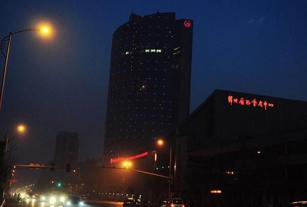锦州国际会展中心夜景亮化