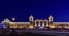 北京站亮化工程赏析