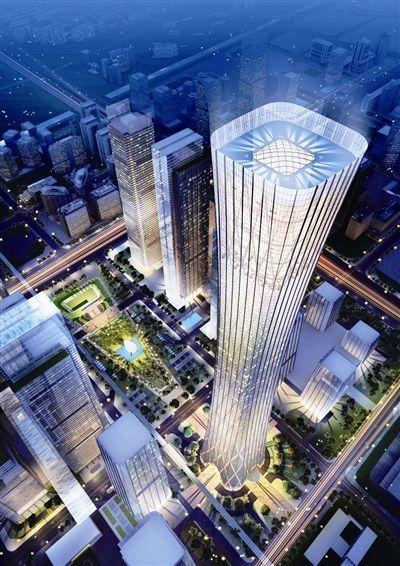 北京中国尊大厦亮化工程赏析