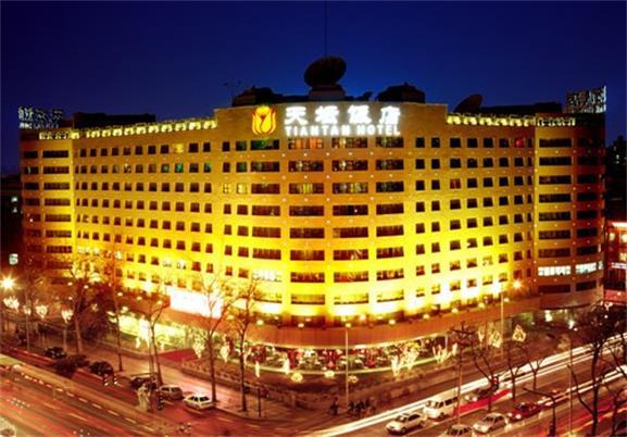 北京天坛饭店亮化工程夜景图2