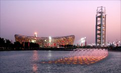 北京奥林匹克公园夜景亮化赏析