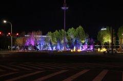 沈阳浑南大学城景观亮化工程欣赏