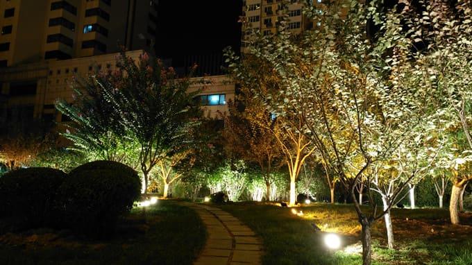 北京全国总工会亮化工程夜景图3