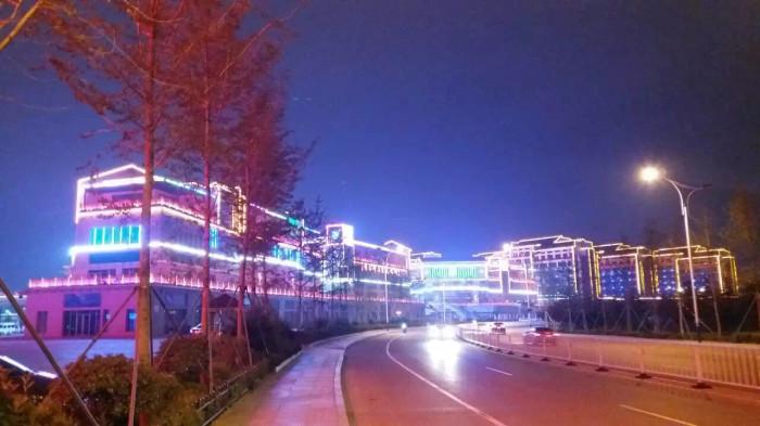 临沂书圣国际文化城亮化工程夜景图12
