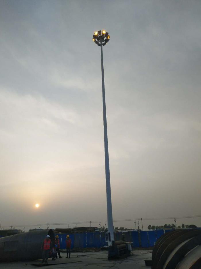 金隅天坛(唐山)木业厂区35米高杆灯照明工程图1
