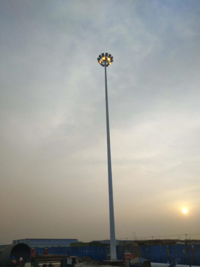 金隅天坛(唐山)木业厂区35米高杆灯照明工程图3