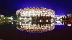 赤峰鸟巢体育馆亮化工程欣赏