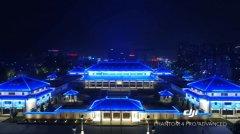 赤峰博物馆亮化工程欣赏
