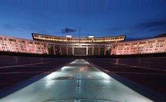 赤峰市政府广场夜景亮化工程