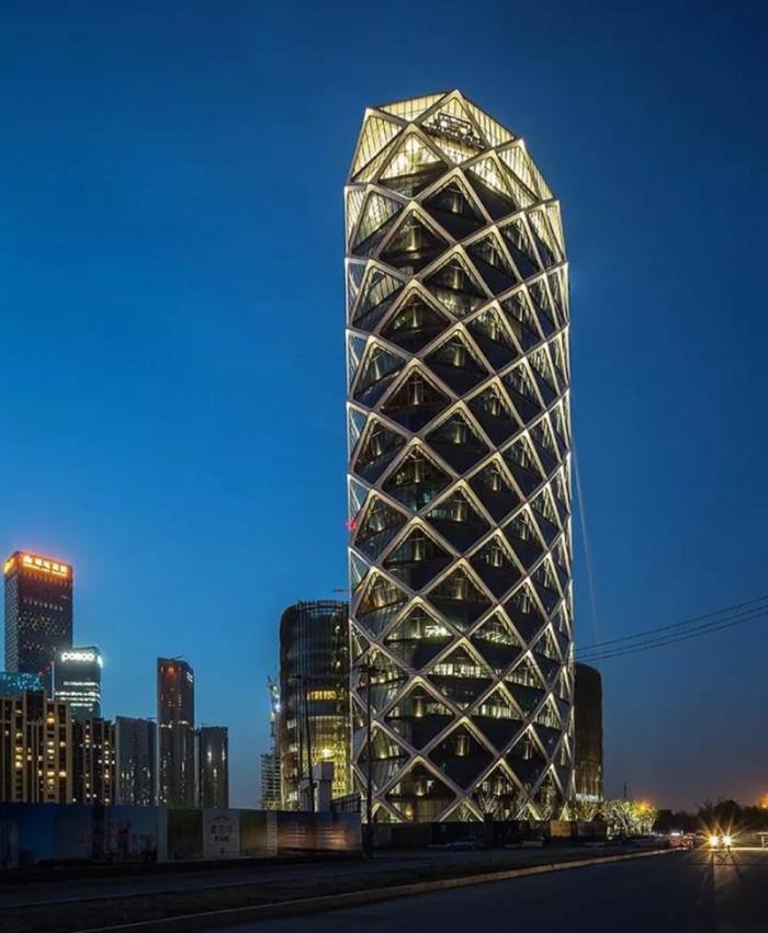 北京保利国际广场亮化工程夜景图4