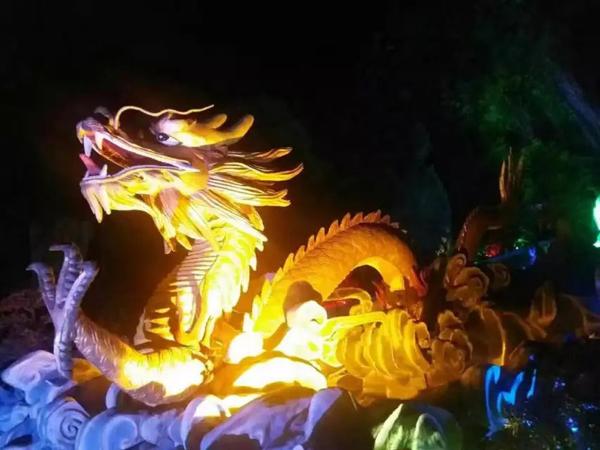北京市公园景观亮化夜景图3