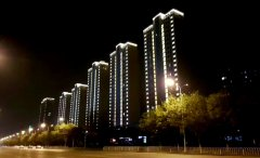 天津全运城区亮化工程欣赏