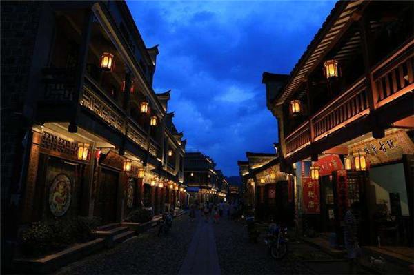 古建筑夜景照明设计