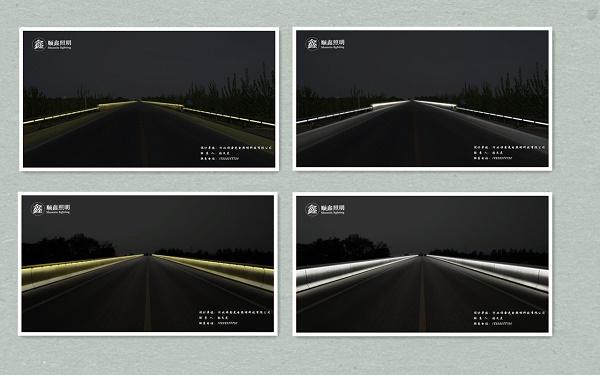 高架桥夜景亮化图