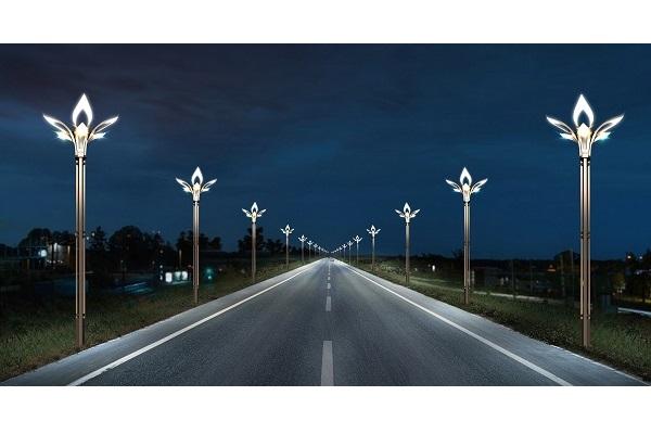吴桥城市道路亮化效果图