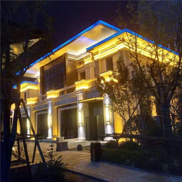 天津市武清區恒大翡翠灣售樓處亮化工程