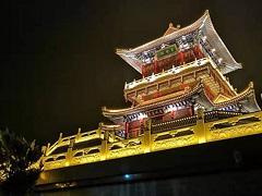 秦皇岛市青龙县2019年旅发大会夜景亮化工程
