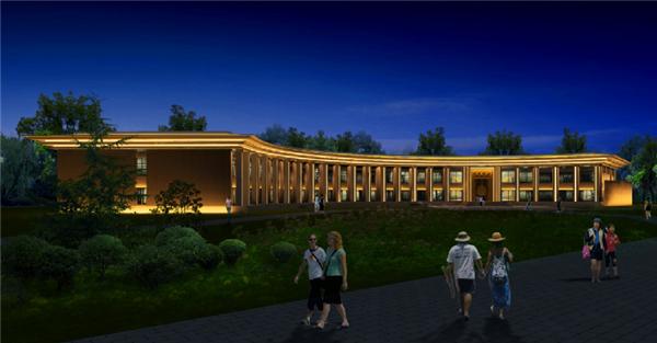 北京市昌平区麓鸣花园项目18号楼及景观入口大门泛光照明工程