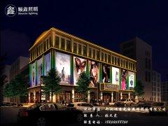 现代城市建筑与夜景vwin德赢手机的关系