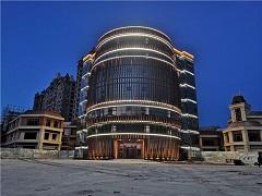 张家口京北恒大国际文化城泛光照明工程